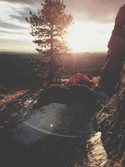 //Camping..